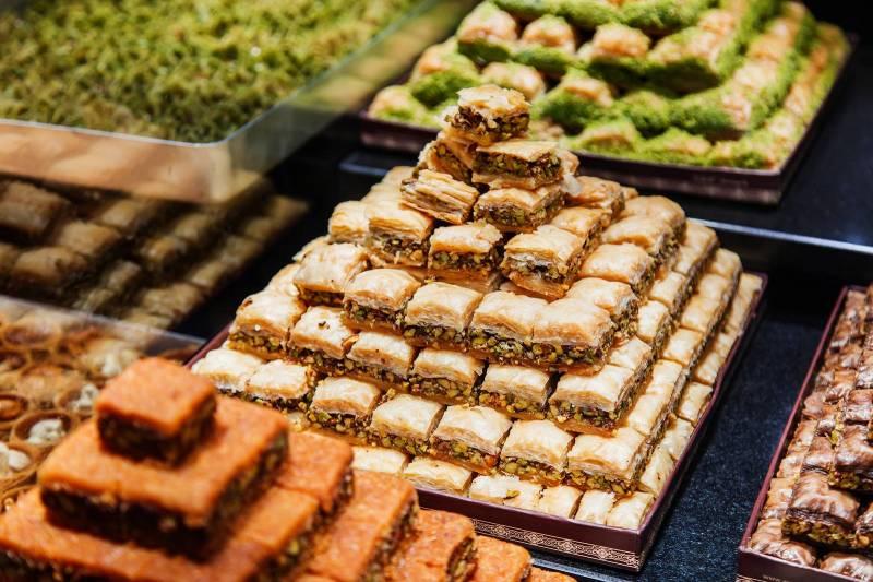 صورة حلويات عربية , اجمل اطباق الحلويات الشرقيه 3660 5