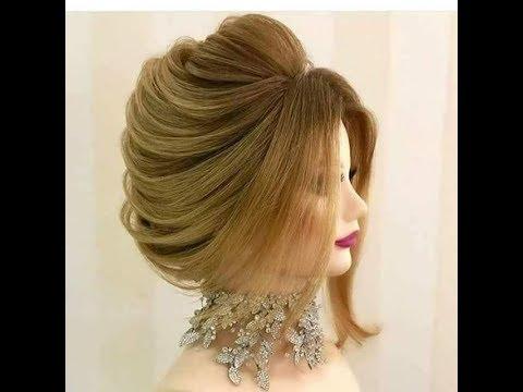 بالصور تسريحات شعر ناعمة , احدث الصيحات فى تسريح الشعر الالمس 3741