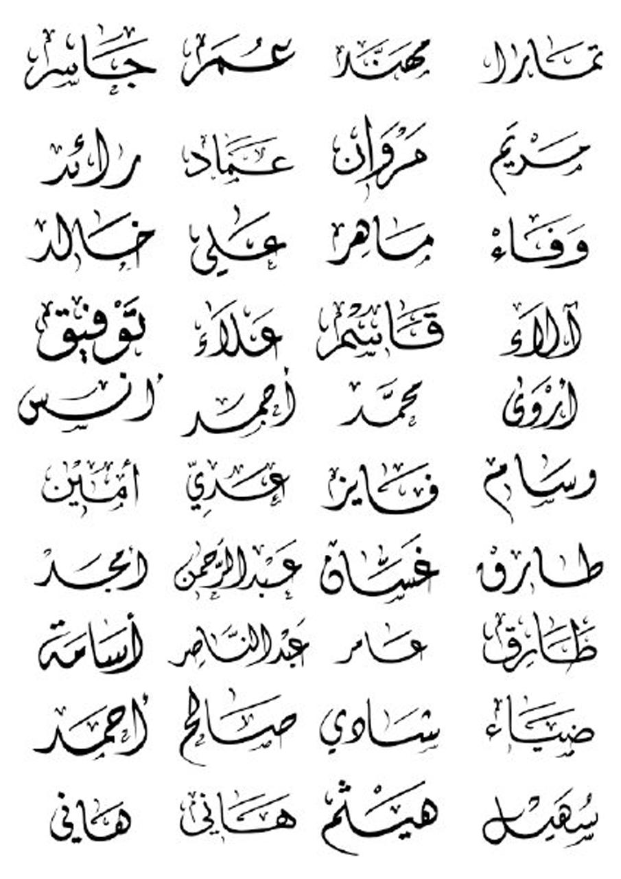 بالصور اجمل الاسماء العربية , احدث الاسامى العربيه الجديده 4026 1