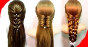 تسريحات بسيطة للشعر , احدث الصيحات فى التسيرحات الشعر الطويل
