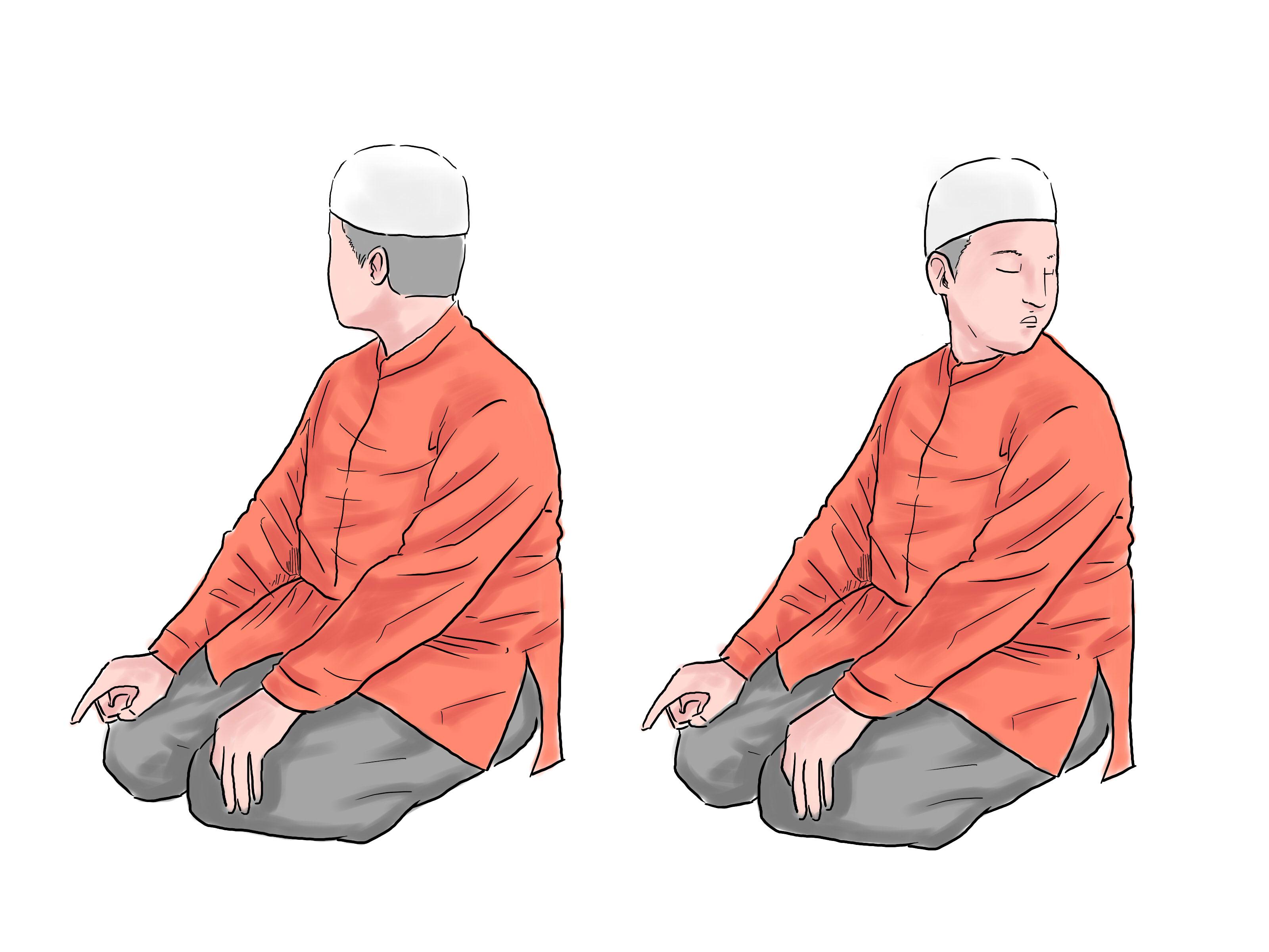 بالصور طريقة الصلاة الصحيحة بالصور , تعرف على كيفيه الصلاه الصحيحه بالصور 5899 8