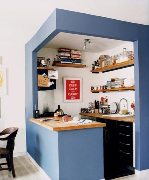 بالصور تصاميم مطابخ صغيرة وبسيطة , اشكال اصغر المطابخ البسيطة 1472 7