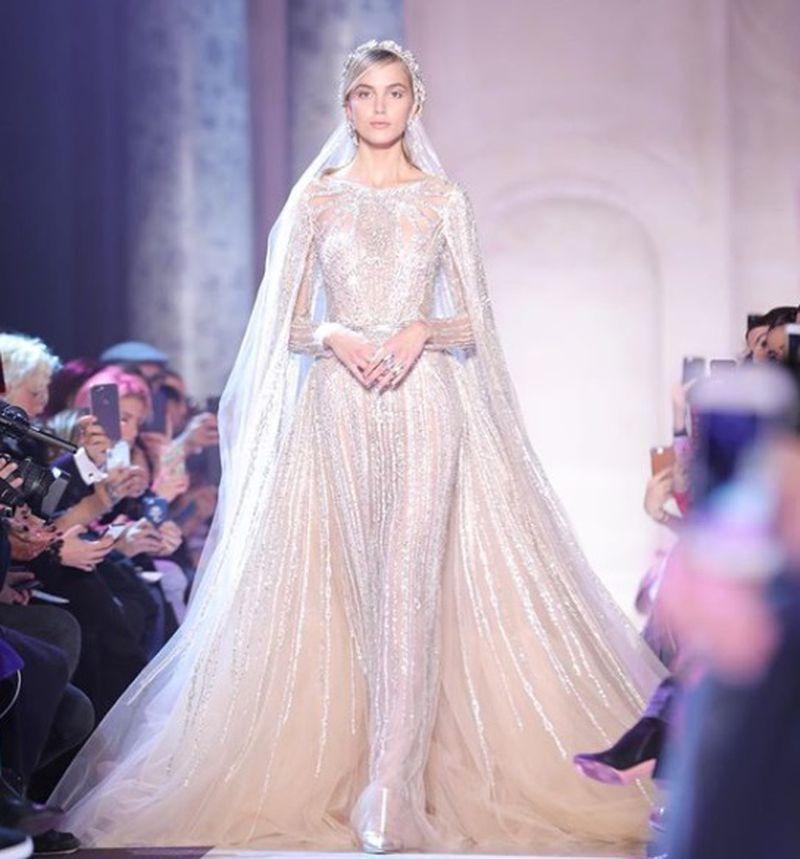 بالصور فساتين زفاف فخمه , اجمل فساتين الفرح للعروسة 1483 10
