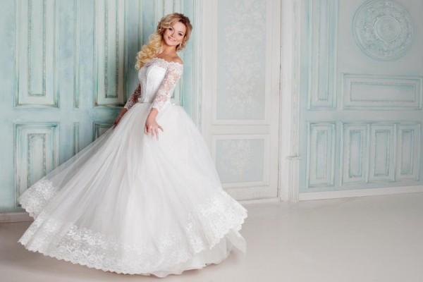 بالصور فساتين زفاف فخمه , اجمل فساتين الفرح للعروسة 1483 13