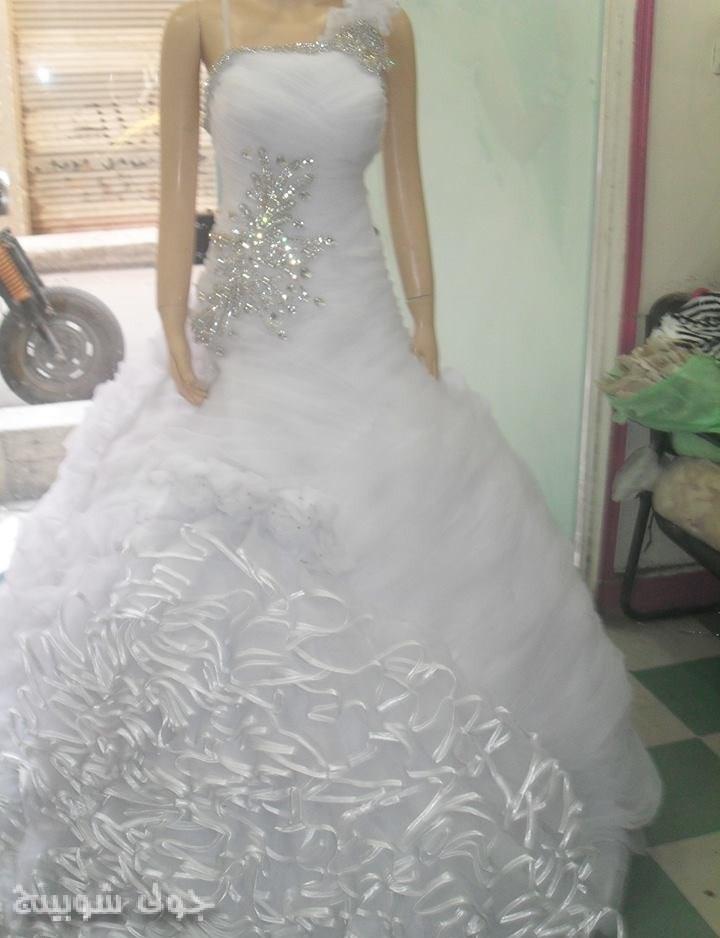 بالصور فساتين زفاف فخمه , اجمل فساتين الفرح للعروسة 1483 4
