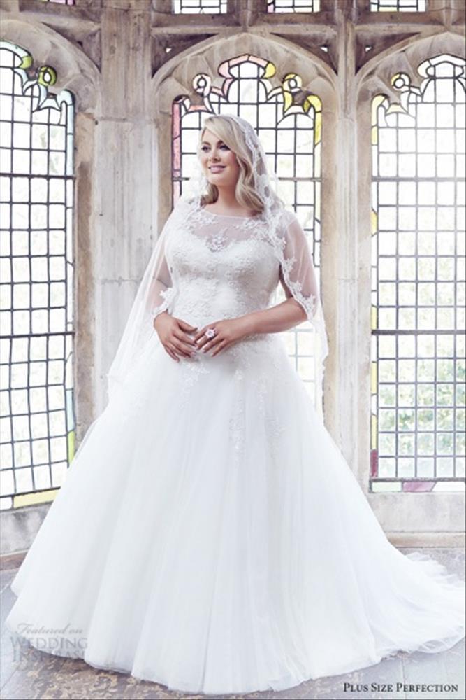 بالصور فساتين زفاف فخمه , اجمل فساتين الفرح للعروسة 1483 5