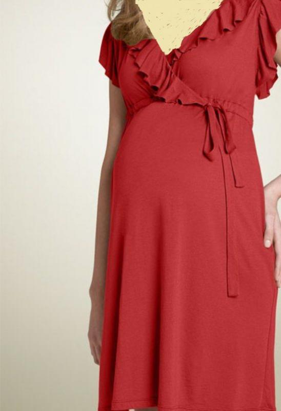 بالصور فساتين للحوامل , اجمل الفساتين المريحة للحوامل 1512 10