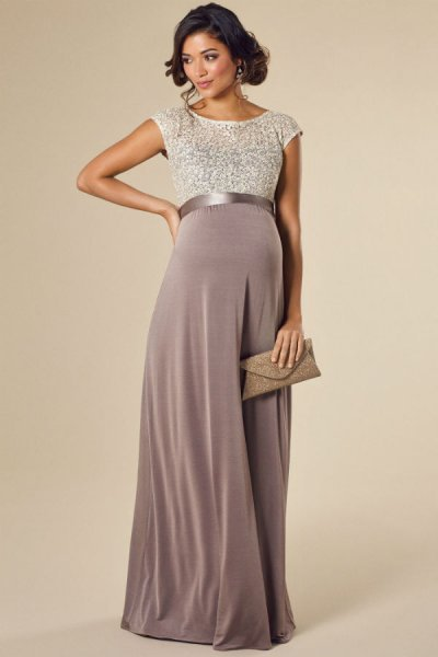 بالصور فساتين للحوامل , اجمل الفساتين المريحة للحوامل 1512 2