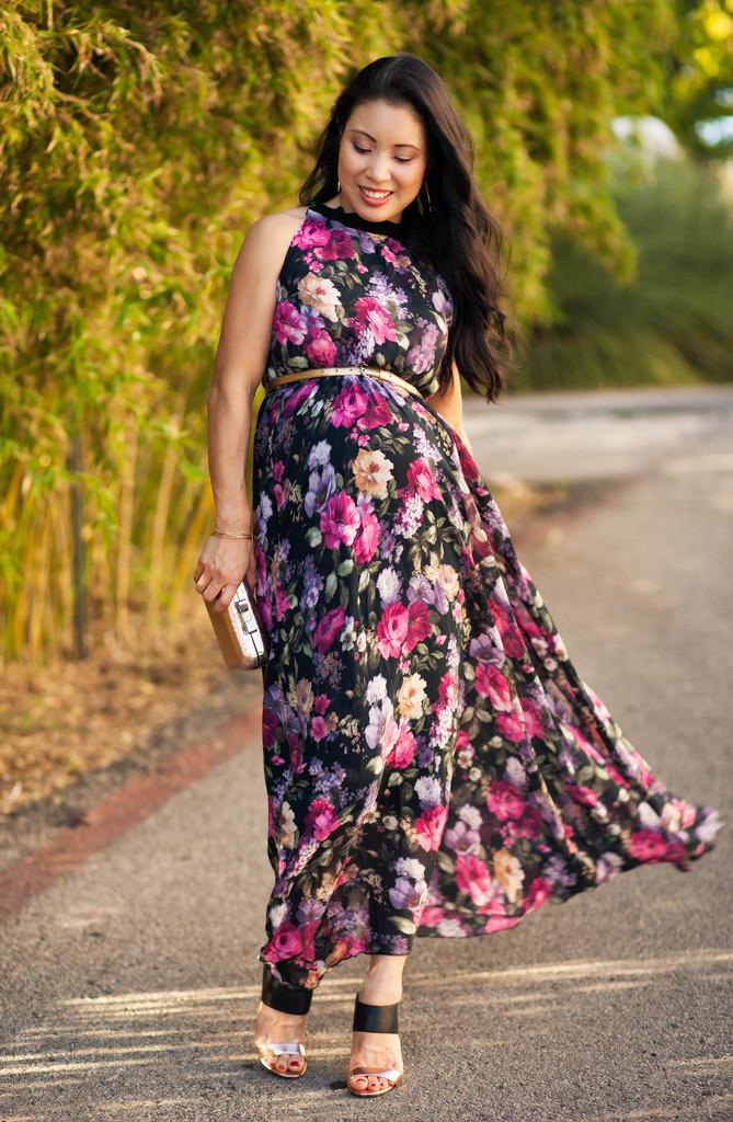 بالصور فساتين للحوامل , اجمل الفساتين المريحة للحوامل 1512 4