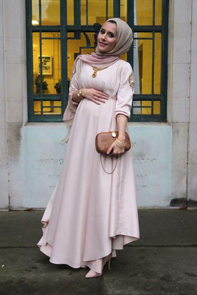 بالصور فساتين للحوامل , اجمل الفساتين المريحة للحوامل 1512 5