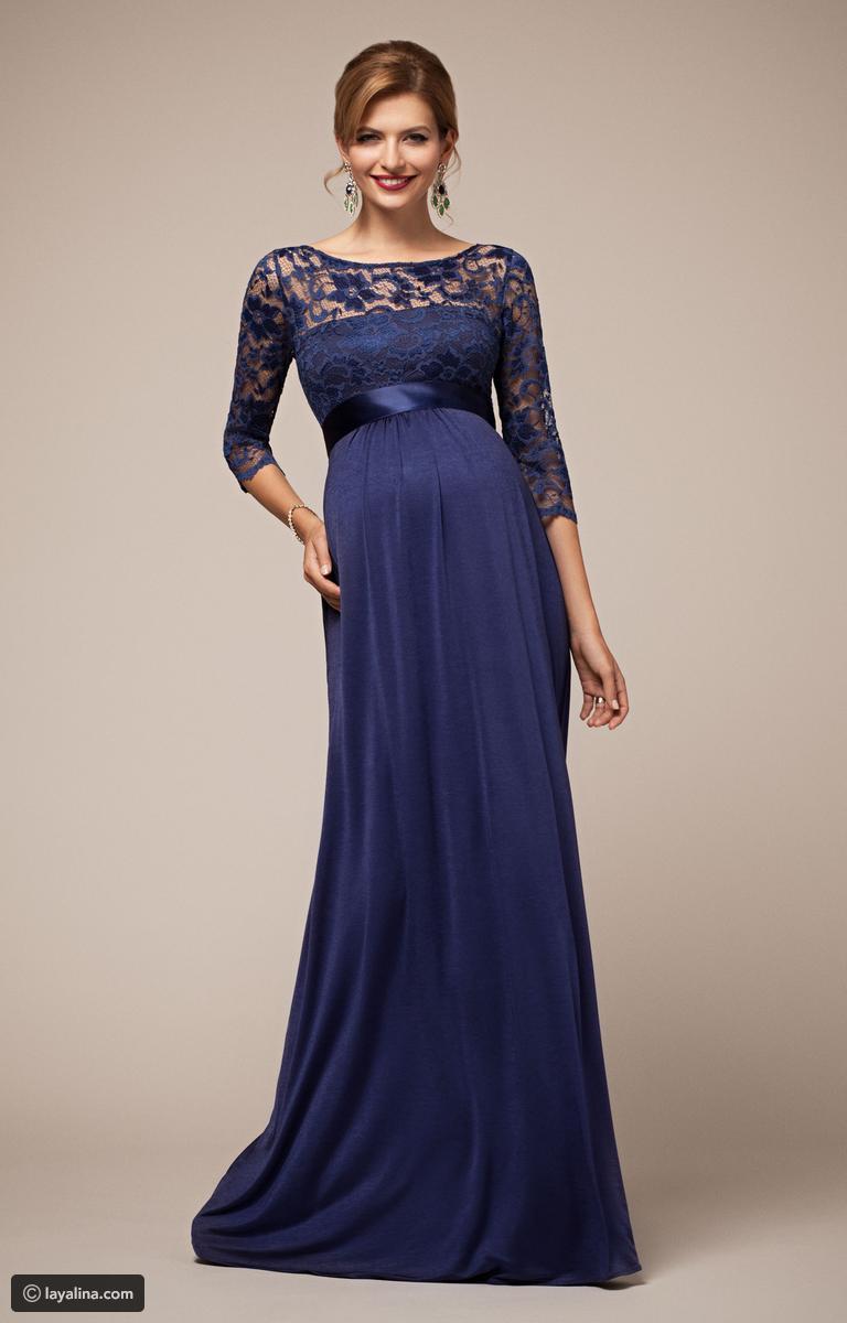 بالصور فساتين للحوامل , اجمل الفساتين المريحة للحوامل 1512 7