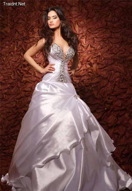 بالصور فساتين ملكه , اروع الفساتين الفخمه 2729 9