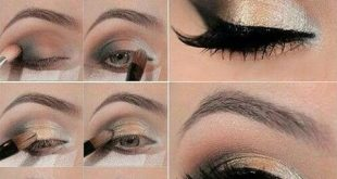 بالصور مكياج عيون بالصور خطوة خطوة , تعلمي كيفية تزيين العيون خطوة خطوة 5276 13 310x165