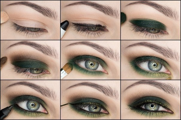 صورة مكياج عيون بالصور خطوة خطوة , تعلمي كيفية تزيين العيون خطوة خطوة 5276 6