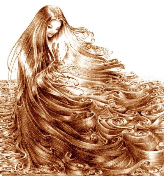 صورة طرق تطويل الشعر , كيفية تطويل الشعر