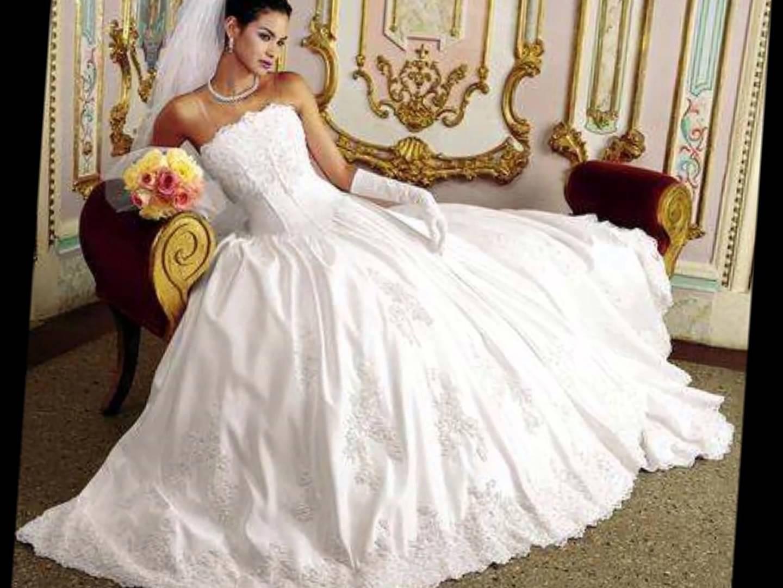 بالصور صور فساتين عرايس , اشيك واحلى فساتين زفاف وخطوبة 5826 1