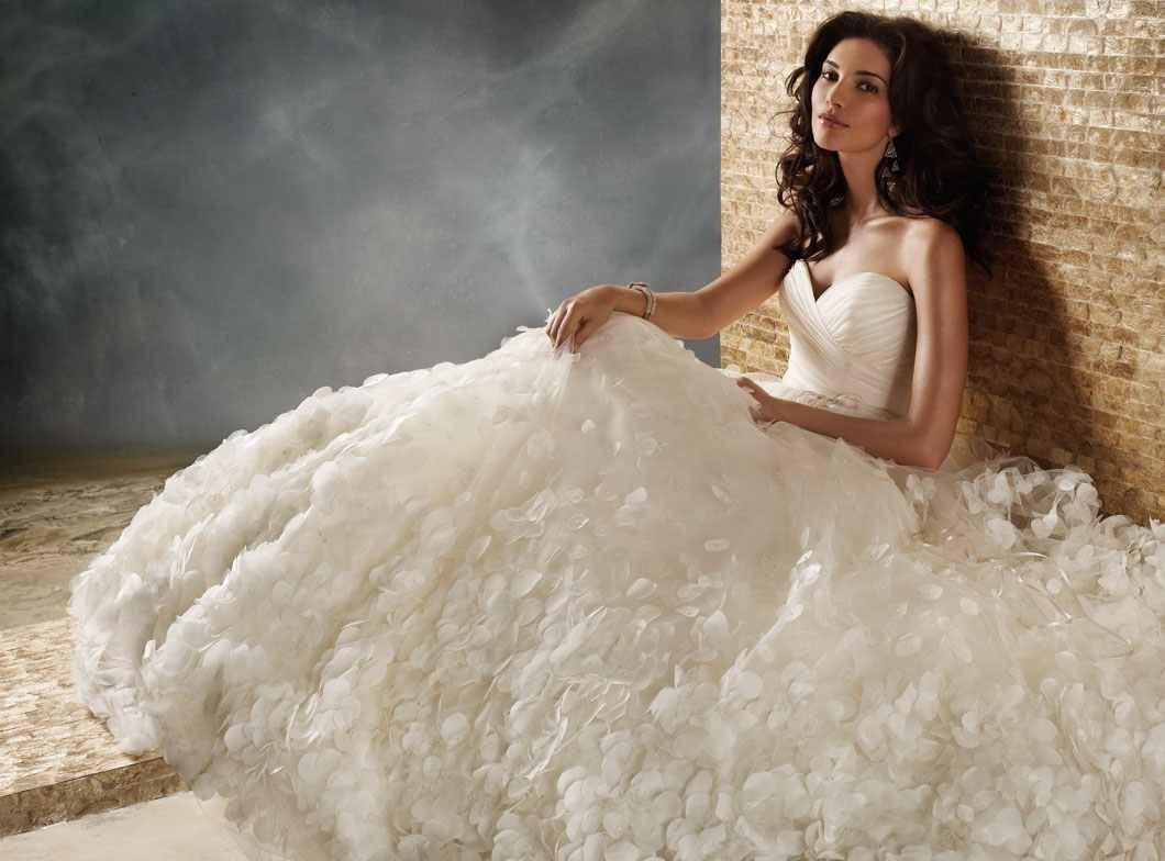 بالصور صور فساتين عرايس , اشيك واحلى فساتين زفاف وخطوبة 5826 10