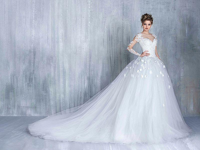 بالصور صور فساتين عرايس , اشيك واحلى فساتين زفاف وخطوبة 5826 2