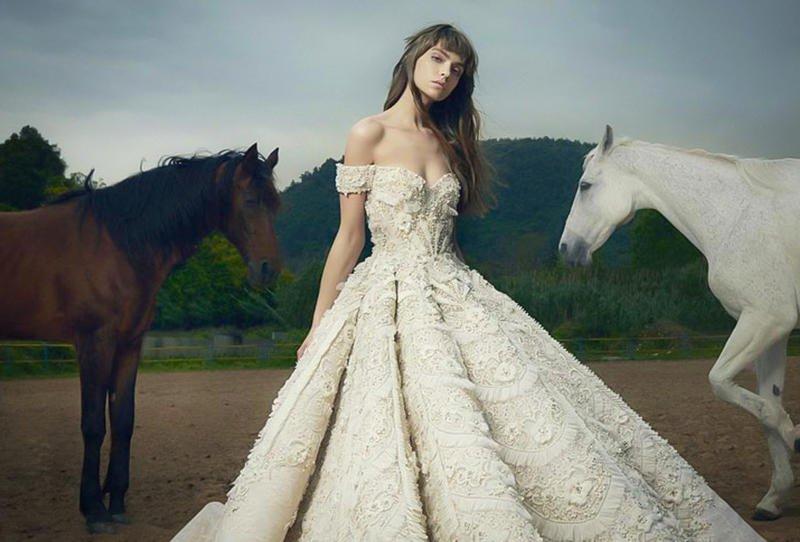بالصور صور فساتين عرايس , اشيك واحلى فساتين زفاف وخطوبة 5826 4