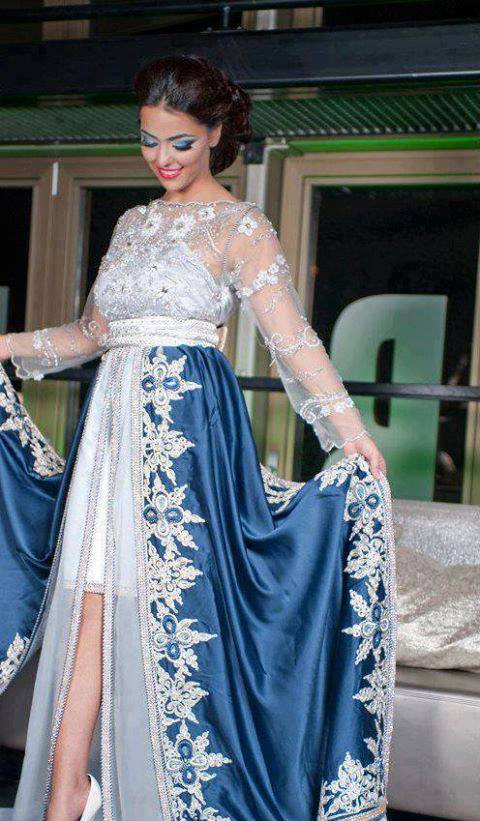 بالصور قفطان جزائري , اروع لباس شعبى بالجزائر 5904 10