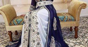 صورة قفطان جزائري , اروع لباس شعبى بالجزائر