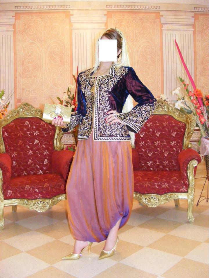 بالصور قفطان جزائري , اروع لباس شعبى بالجزائر 5904 2