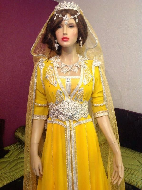 بالصور قفطان جزائري , اروع لباس شعبى بالجزائر 5904 7