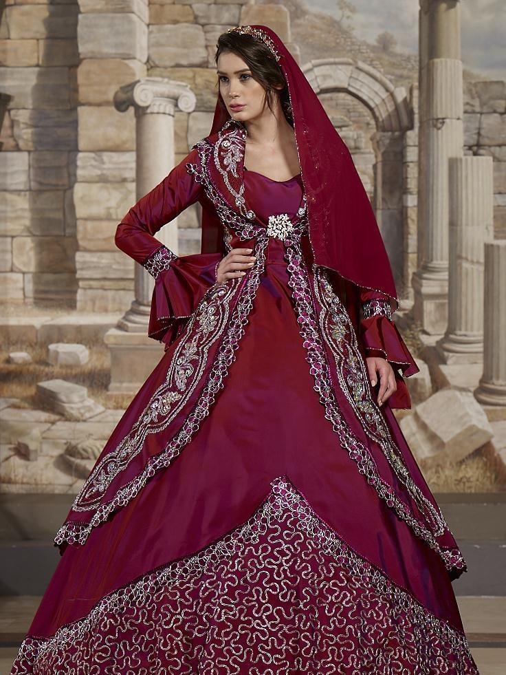 بالصور قفطان جزائري , اروع لباس شعبى بالجزائر 5904 8
