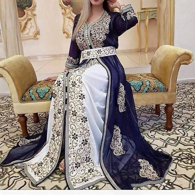 بالصور قفطان جزائري , اروع لباس شعبى بالجزائر 5904