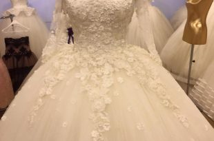بالصور احدث فساتين الزفاف , اجدد صيحات فساتين افراح 6197 13 310x205