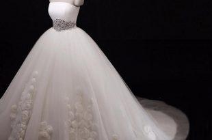 صوره صور فساتين عروس , فساتين للعروسة لاجمل اميرة