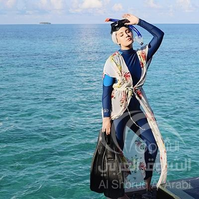 صور موضة الحجاب , اشكال حجاب علي الموضة