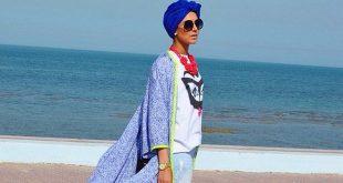 موضة الحجاب , اشكال حجاب علي الموضة