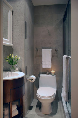 بالصور حمامات صغيرة , اشكال لاصغر تصاميم حمامات 628 4