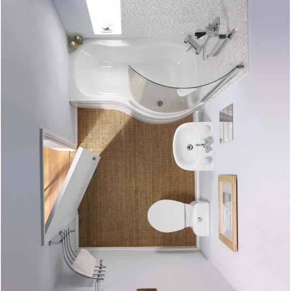 بالصور حمامات صغيرة , اشكال لاصغر تصاميم حمامات 628 6