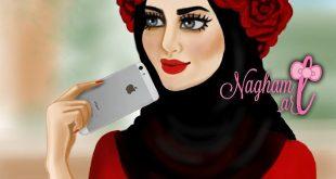 صور بنات محجبة كرتون , اروع صور لحجاب البنات