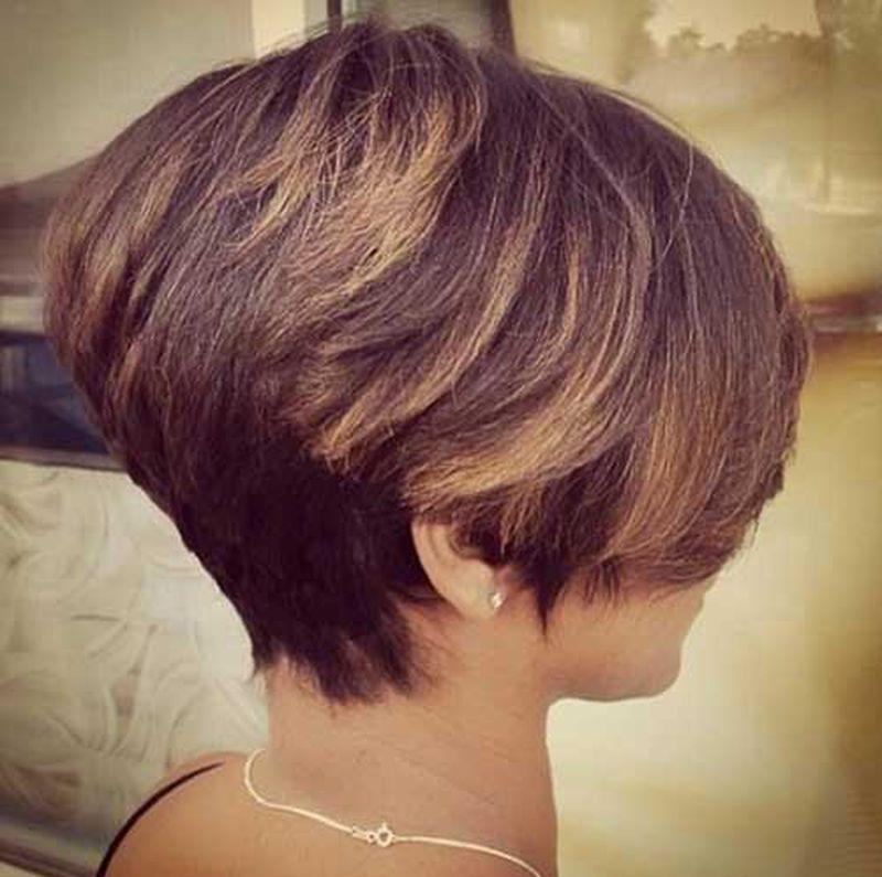 بالصور قصات شعر قصير مدرج , احدث قصات شعر مدرج 4291 9