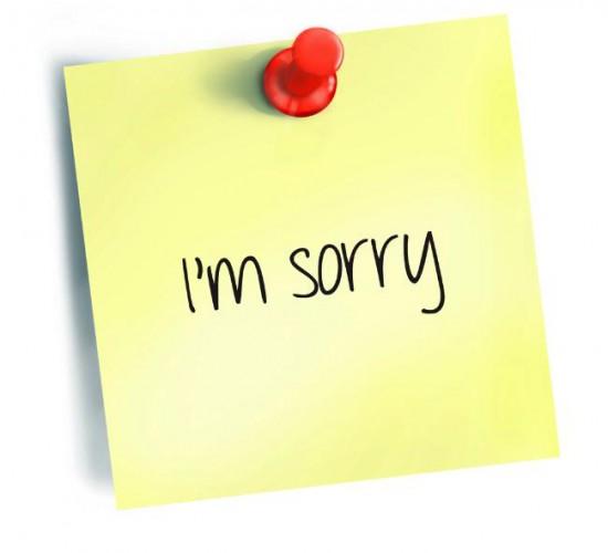 صورة رسالة اعتذار للام