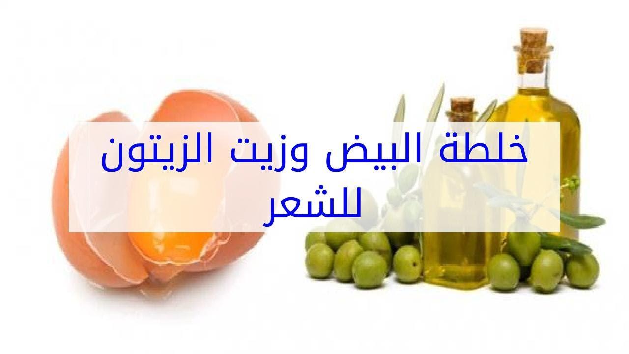 صورة وصفة البيض وزيت الزيتون للشعر , انسي الكوافير وافردي شعرك بمكونات بسيطه
