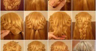 بالصور ظفائر شعر منوعة بالصور , اشيك صور تسريحات شعر ضفائر 11548 12 310x165