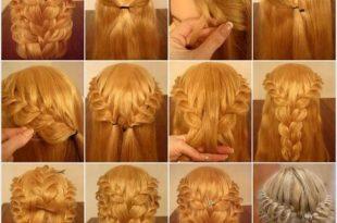 بالصور ظفائر شعر منوعة بالصور , اشيك صور تسريحات شعر ضفائر 11548 12 310x205