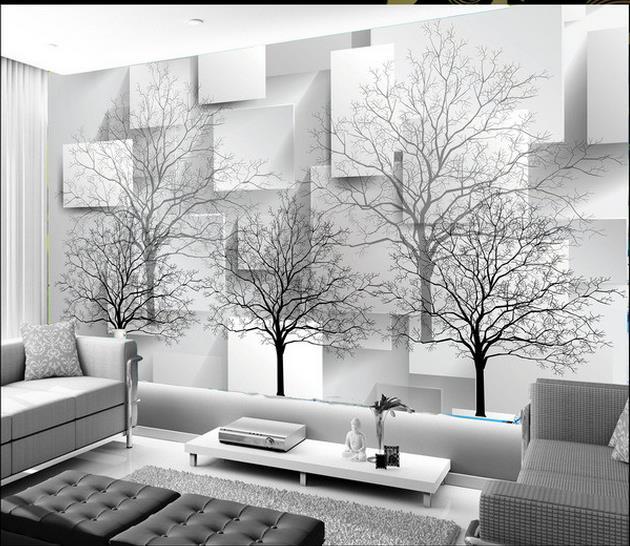 صورة ورق جدران ثلاثي الابعاد , اجمل اشكال ورق الجدران 4432 7