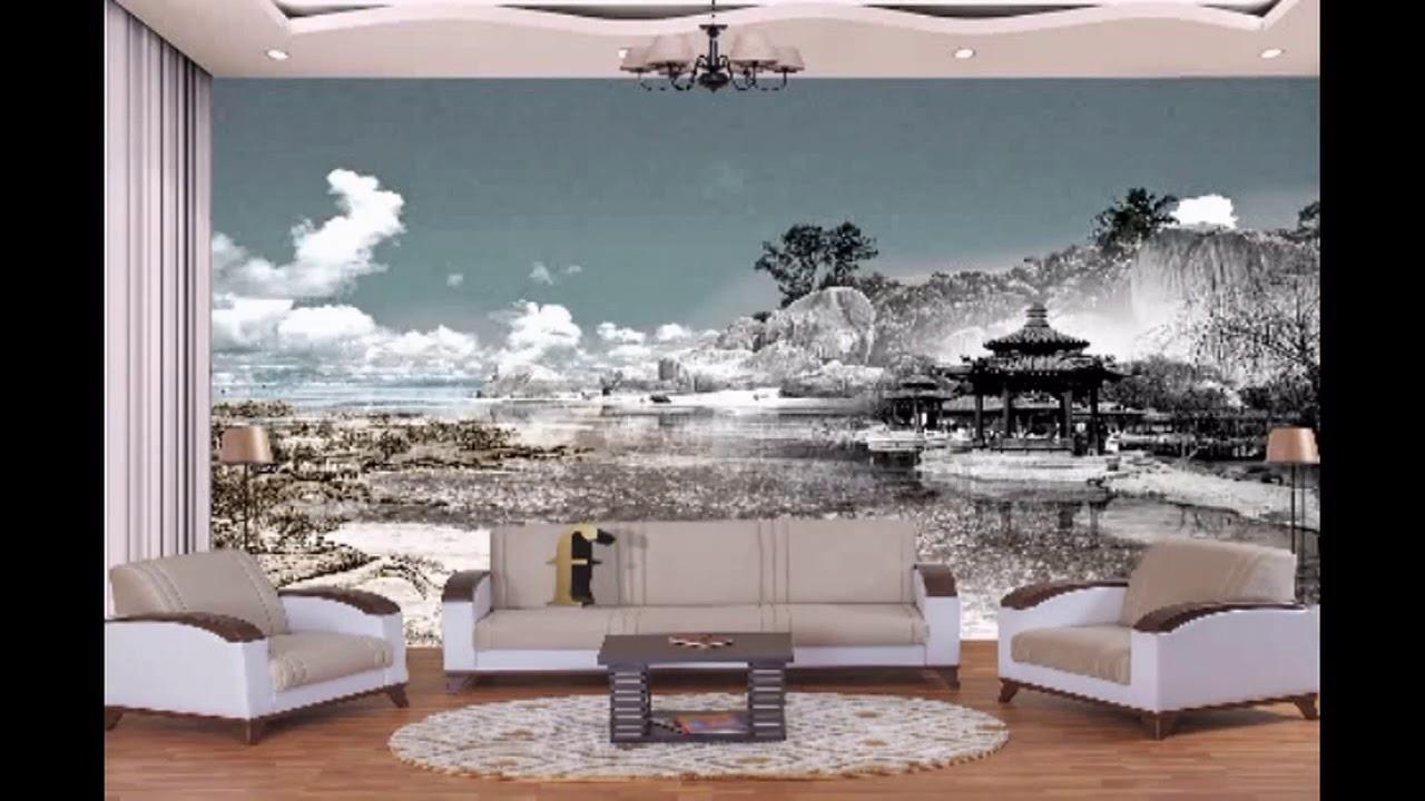 صورة ورق جدران ثلاثي الابعاد , اجمل اشكال ورق الجدران 4432