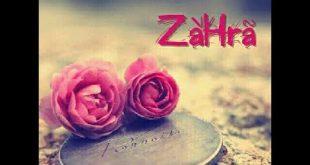 بالصور اسم زهراء , معانى بعض الاسماء البسيطة 2204 2 310x165