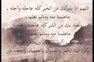 صورة دعاء ماهر المعيقلي , اروع الادعية الرقيقة