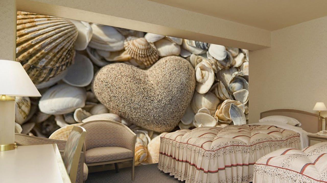 صور ورق جدران ثلاثي الابعاد , اجمل اشكال ورق الجدران
