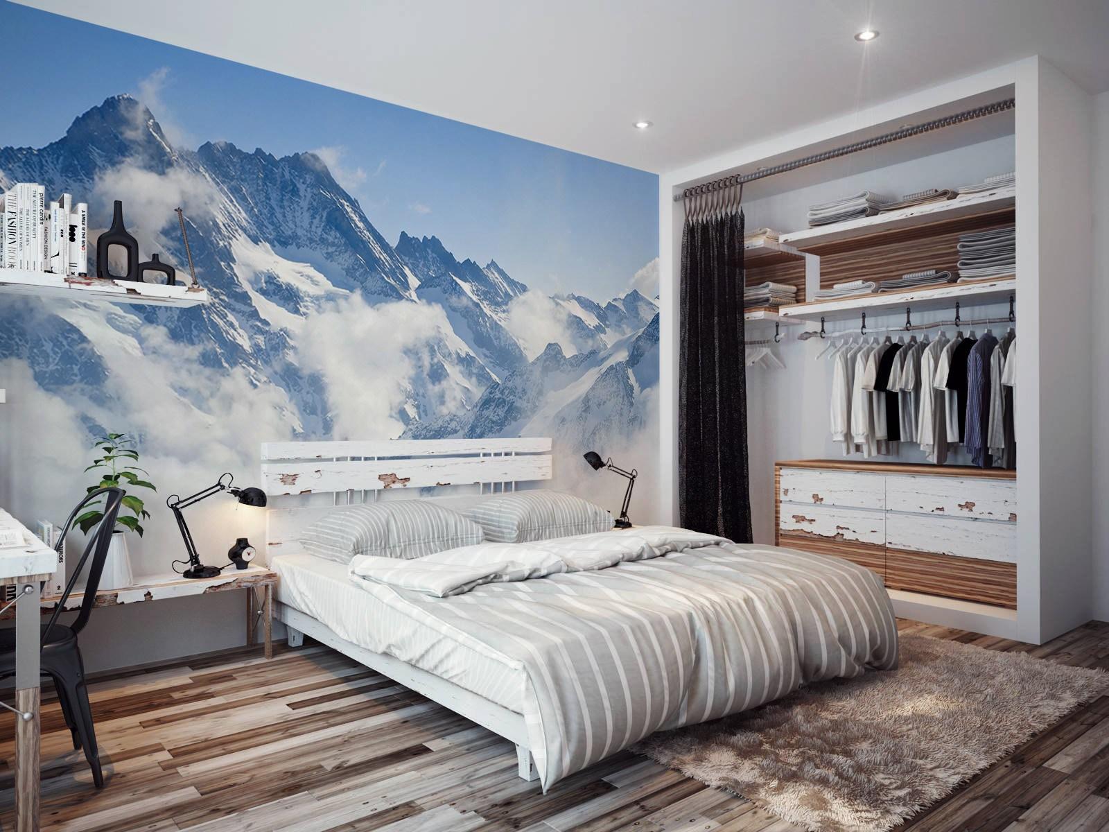 بالصور ورق جدران غرف نوم , واااو ورق جدران محصلش 5190 9