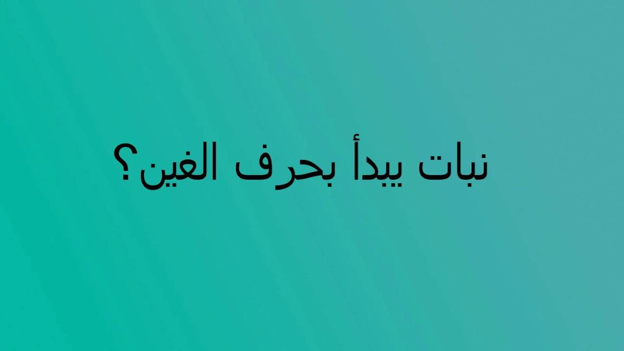 بلاد بحرف غ اجمل بلاد بحرف ال غ حبيبي