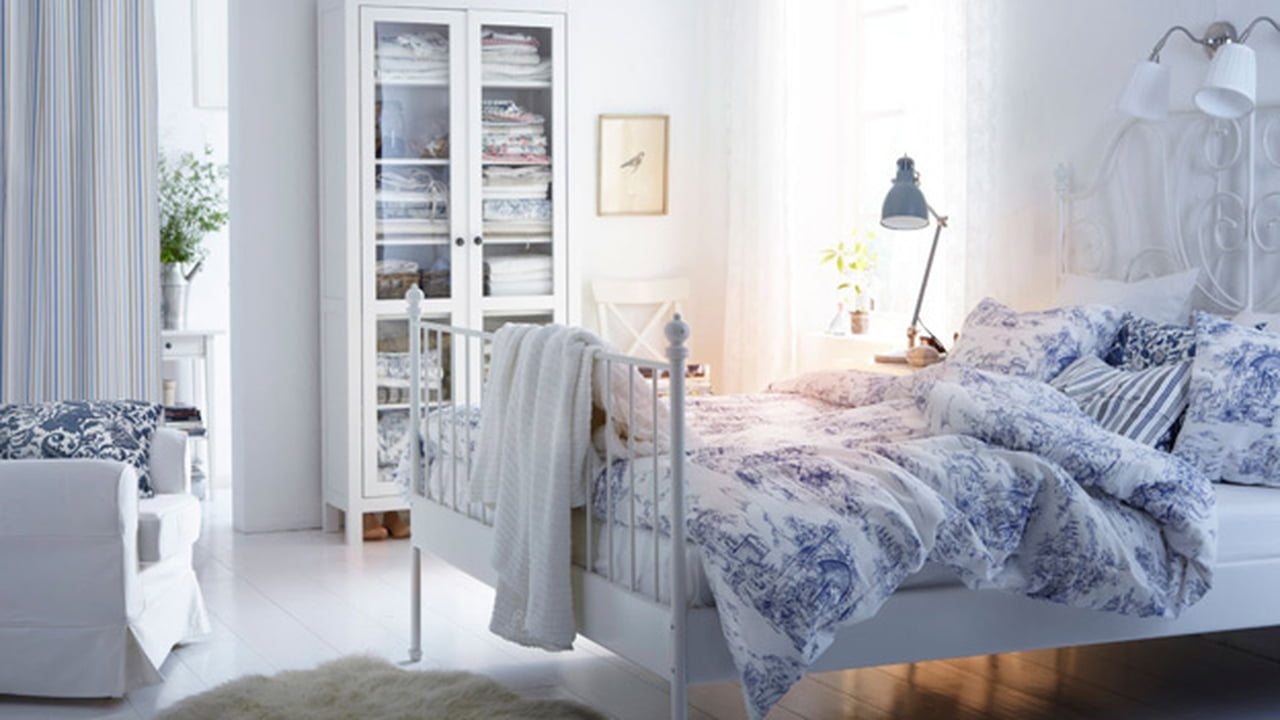 صورة غرف نوم ايكيا , احدث موديلات اوض نوم ايكيا