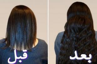 صور كيف اطول شعري , اقوى خلطه لتطويل الشعر